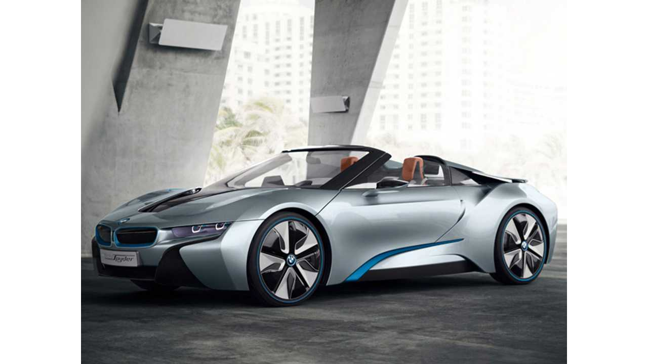 BMW i8 Wins North American Concept Car of the Year Award for Best Production Preview Vehicle