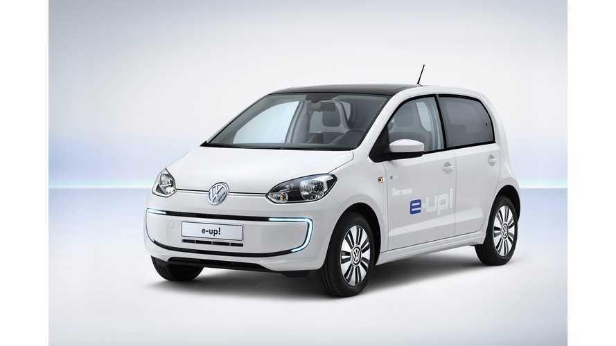 SEAT Mulling Electric Mii...A VW E-Up! Clone