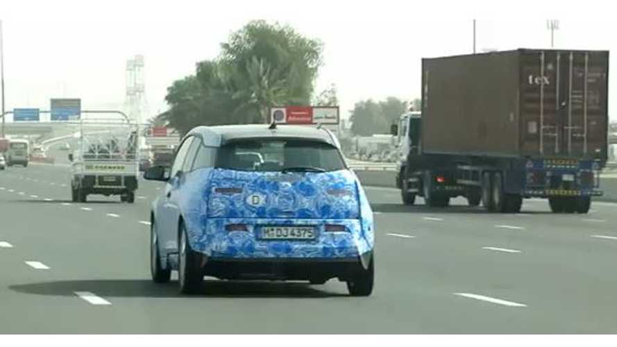Video: BMW i3 Spotted Hot Weather Testing in Dubai