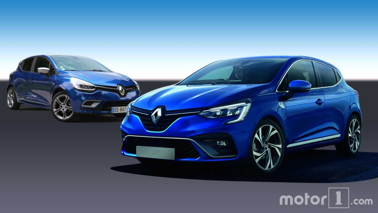 Renault Clio IV (2012) vs. Clio V (2019)