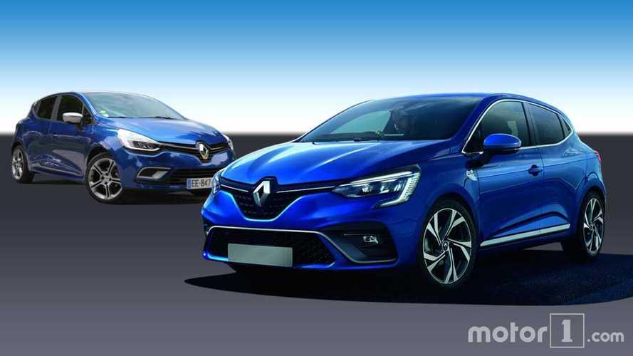 Renault Clio 2019 vs. 2012: ¿cuánto cambia por diseño?