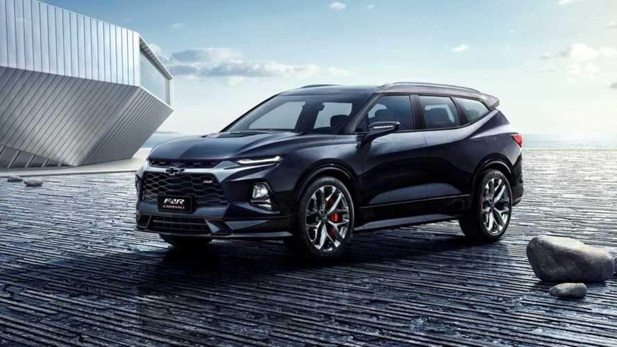 Novo Chevrolet Blazer terá versão de 7 lugares que pode vir ao Brasil
