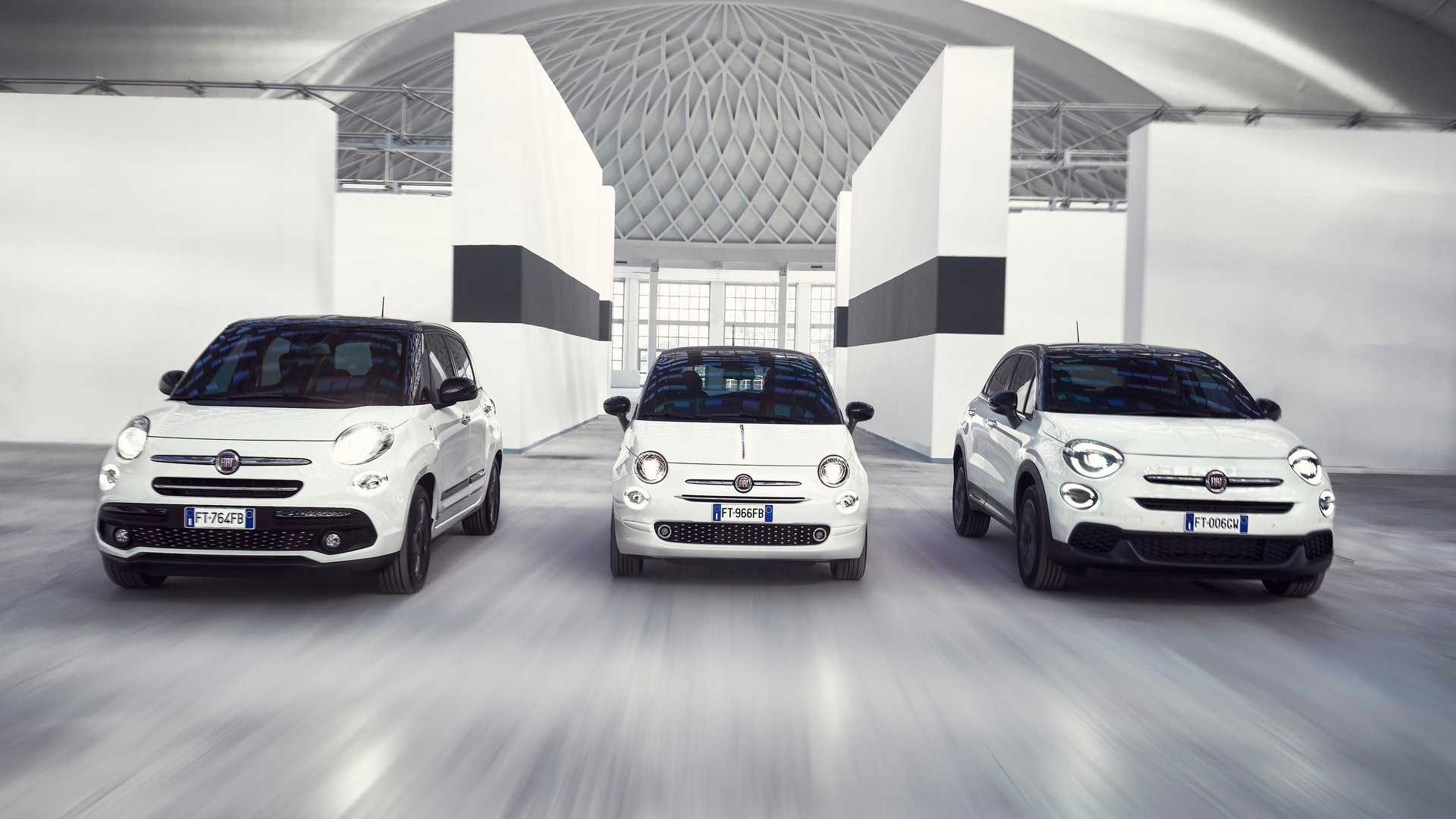 5f66ace66 Fiat Marks 120th Anniversary With Special 500, 500X, 500L