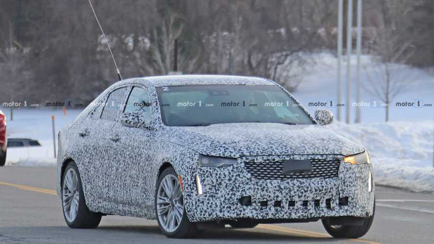 2020 Cadillac CT4 Spy Photos