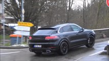 Porsche Cayenne Coupe screenshot from spy video