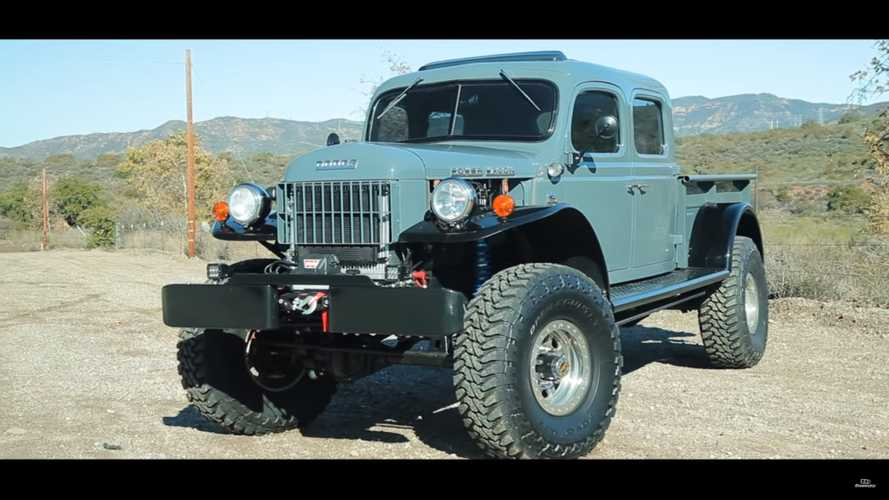 This Custom 1949 Dodge Power Wagon Is Big, Bad, And Awesome