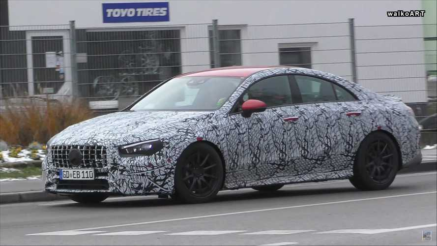 New Mercedes-AMG CLA 35, 45 Caught On Video In Germany