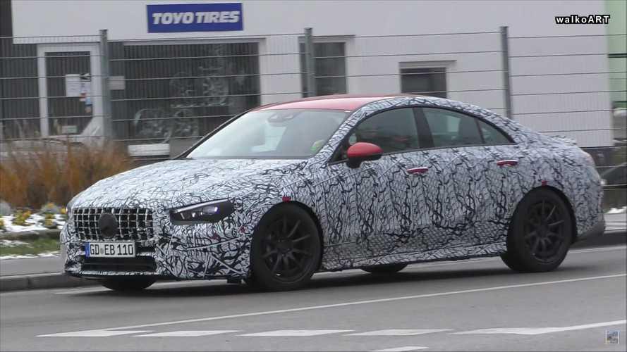Yeni Mercedes-AMG CLA 35 ve 45 Almanya'da görüntülenmiş