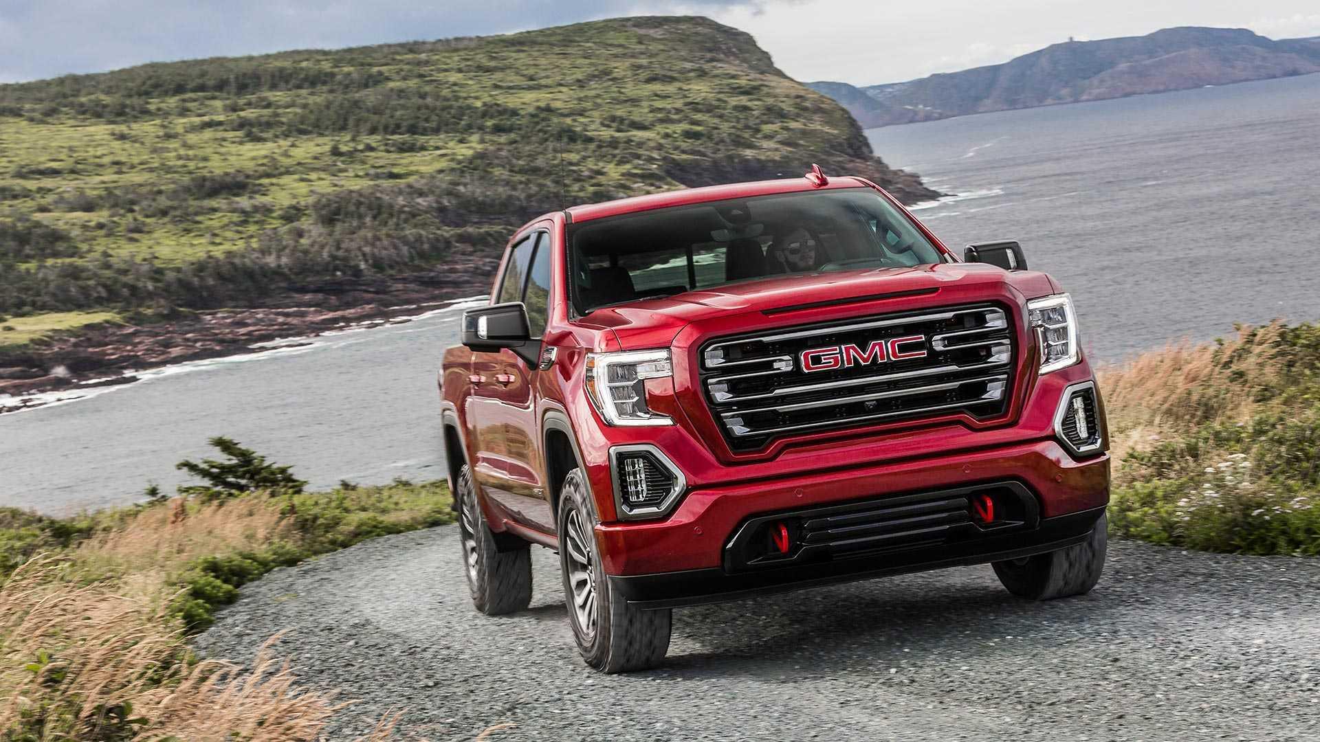 2018 - [Chevrolet / GMC] Silverado / Sierra - Page 2 2019-gmc-sierra-at4-off-road-performance-package