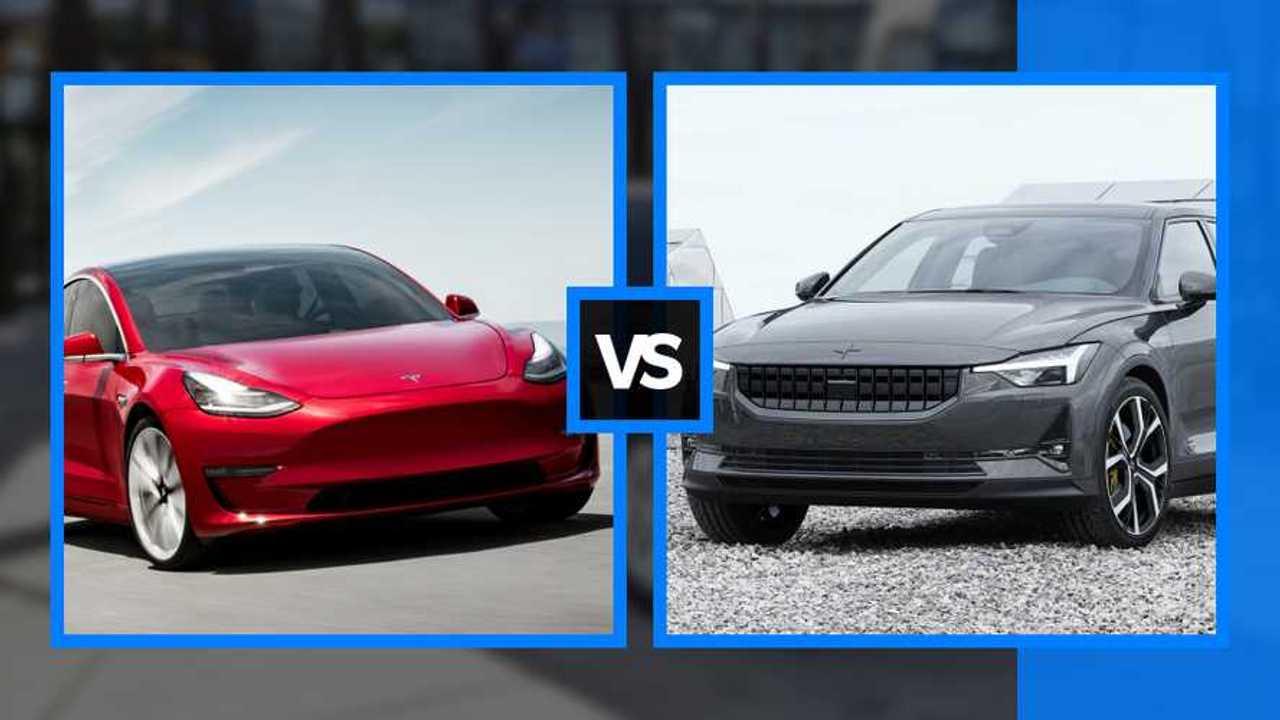 Tesla Model 3 vs Polestar 2