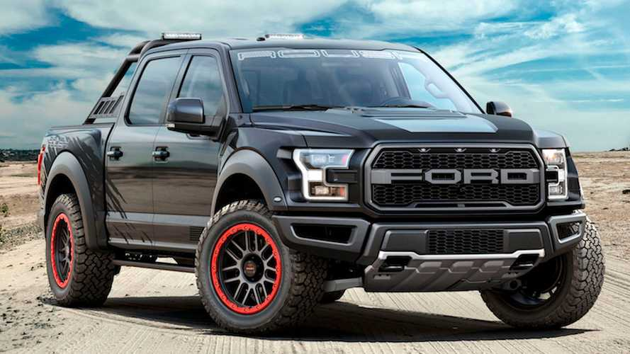 Roush Performance Unveils Modified, More Powerful Raptor
