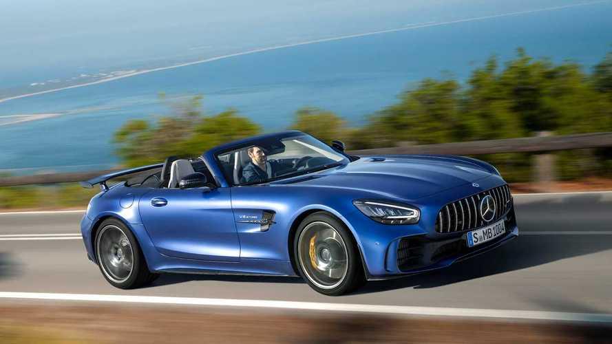 Mercedes-AMG GT R Roadster zerstört Frisuren mit bis zu 317 km/h