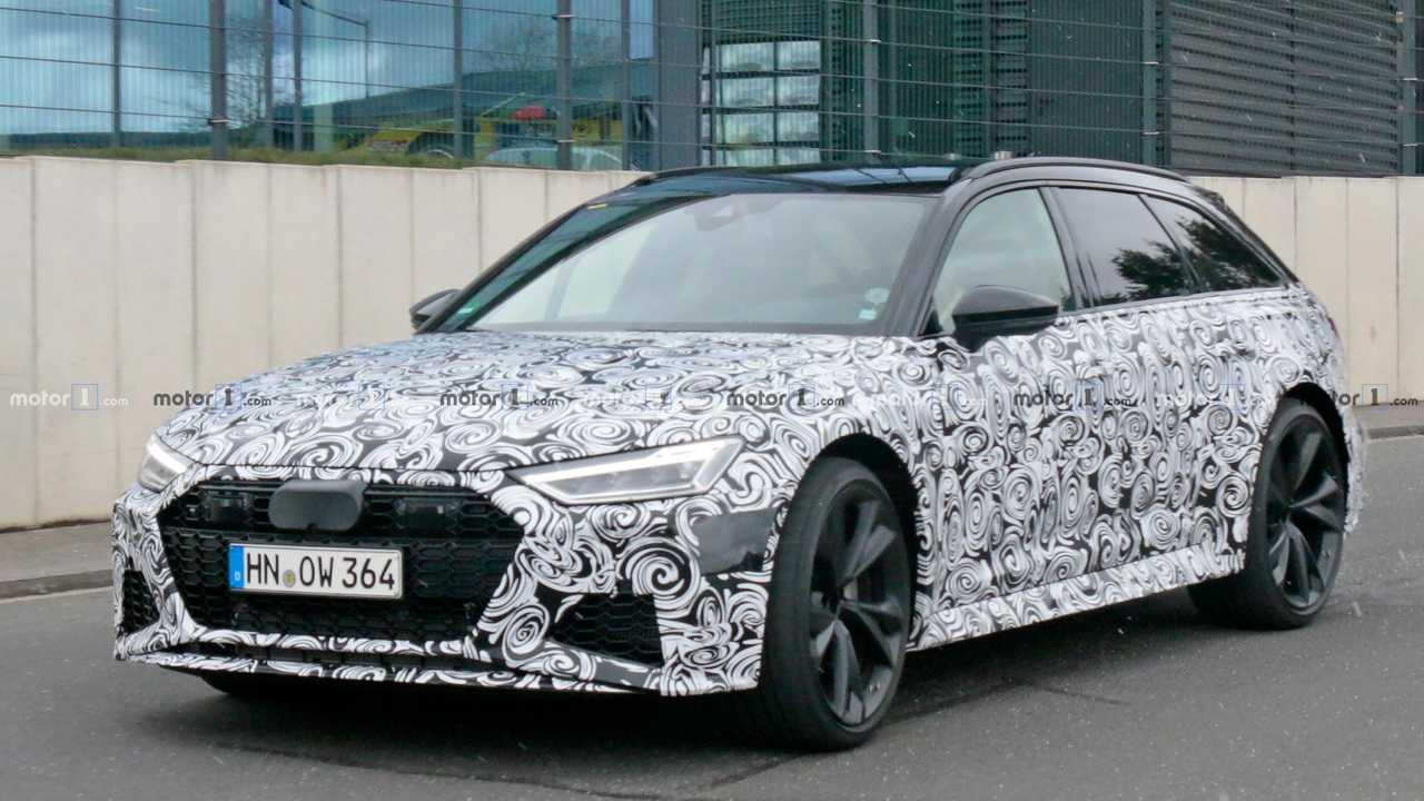 Audi RS6 Avant Spy Shots