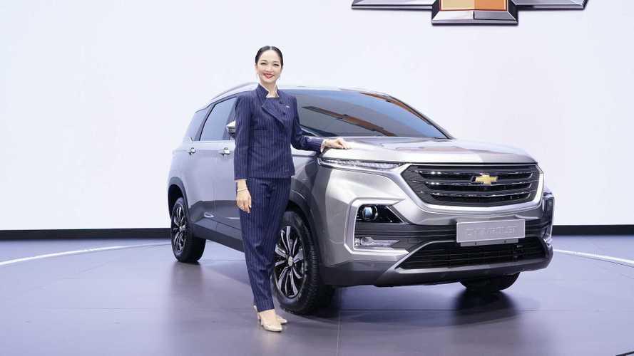 Este é o novo Chevrolet Captiva, mas ele não será vendido no Brasil