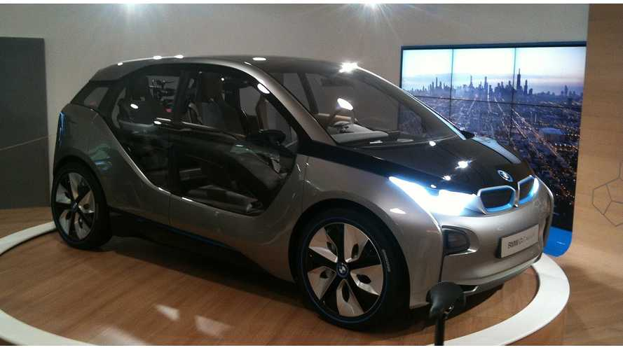 Production Ready BMW i3 Debuts Inside First Ever