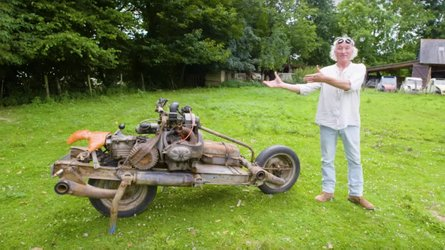 Weekend WTF: The Guy That Built A Motorcycle In The Desert