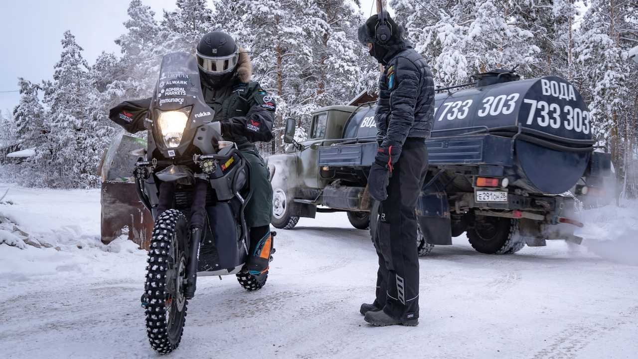 "The Aptly-Named ""Coldest Ride"" Kicked Off In Siberia"