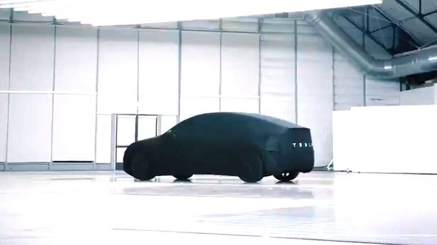 Tesla Model Y Teased Ahead Of Reveal