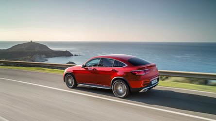 Visszafogott frissítést kapott a Mercedes-Benz GLC Coupé