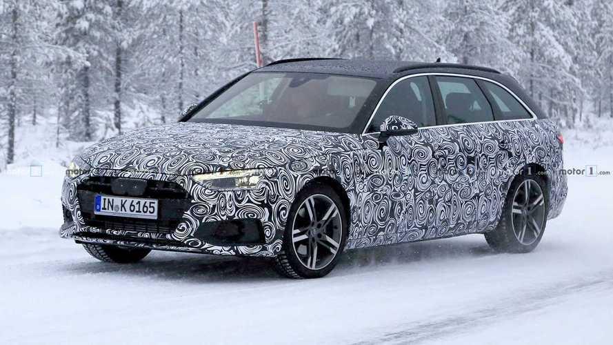 La prochaine Audi A4 Avant se promène dans la neige