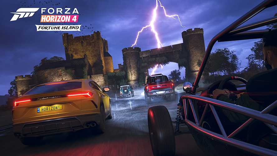 Forza Horizon 4 Fortune Island Expansion Pack coming December 13