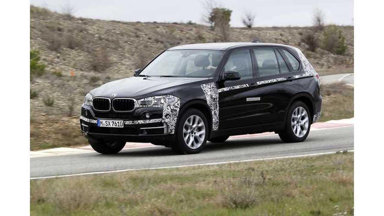 Test Drive: BMW X5 eDrive Plug-In Hybrid Prototype