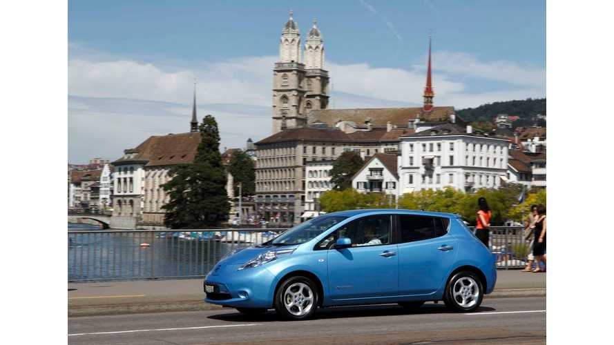 Nissan LEAF Was Europe's Best-Selling EV With 11,120 Sales In 2013