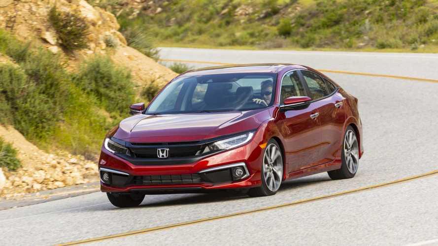 Honda Civic 2019 renovado tem novas fotos divulgadas