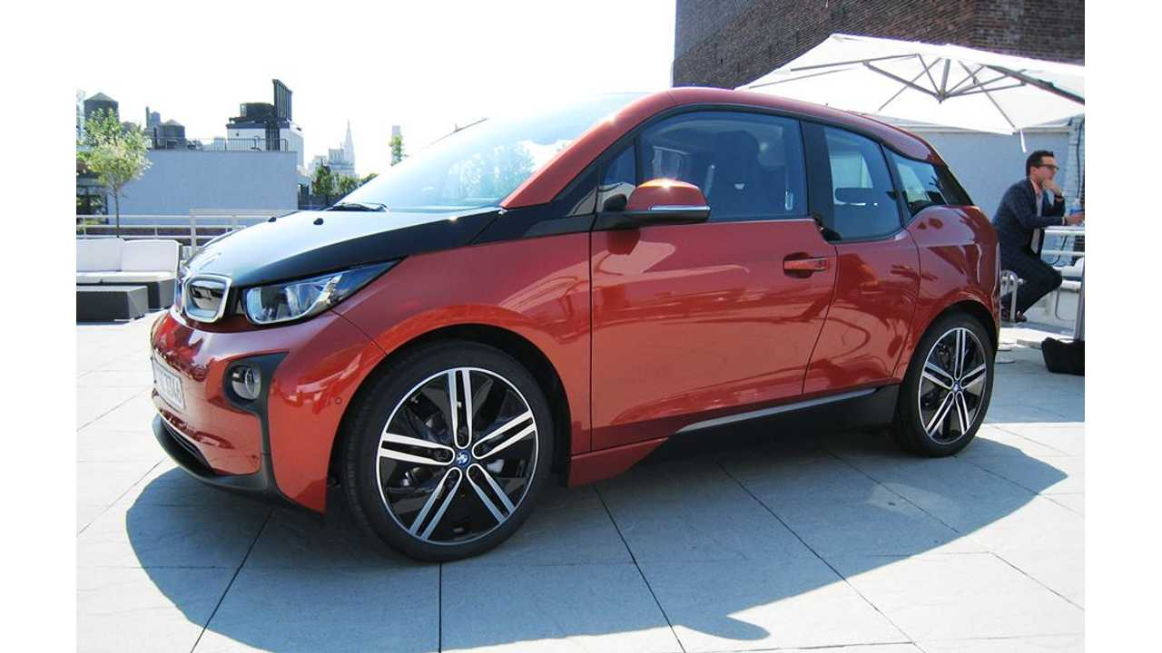 BASF Says Painting BMW i3 Presented