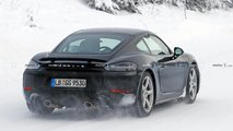 Porsche 718 Cayman GT4 Touring Spy Shots