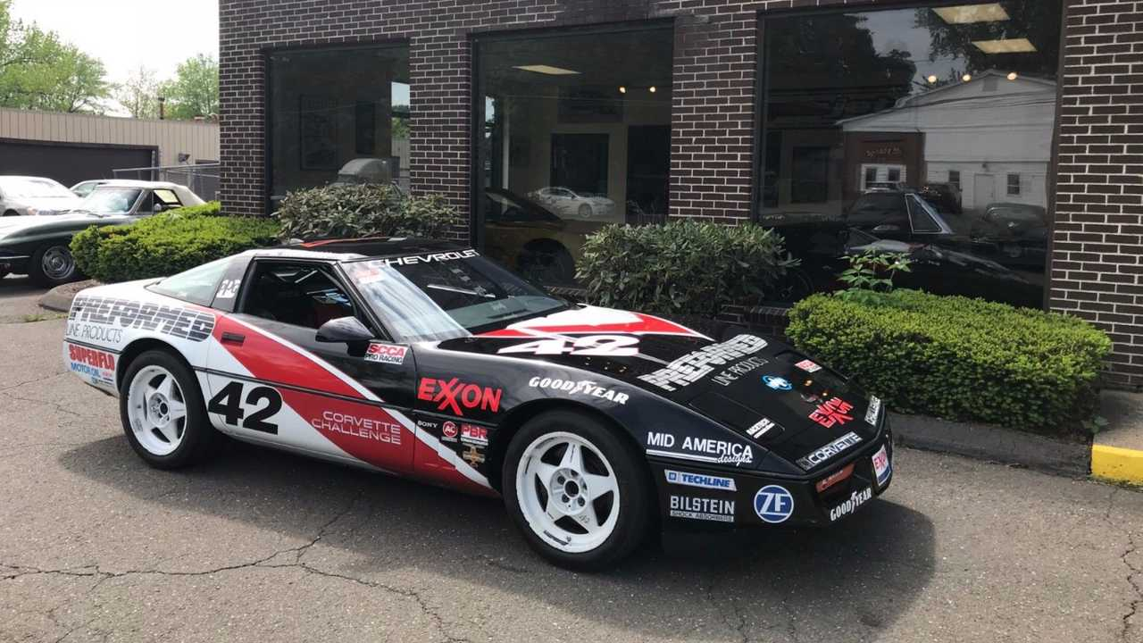 1989 Corvette Challenger Racer Needs To Get Back To The Streets