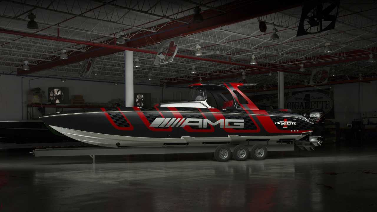 Cigarette Racing 41 'AMG Carbon Edition