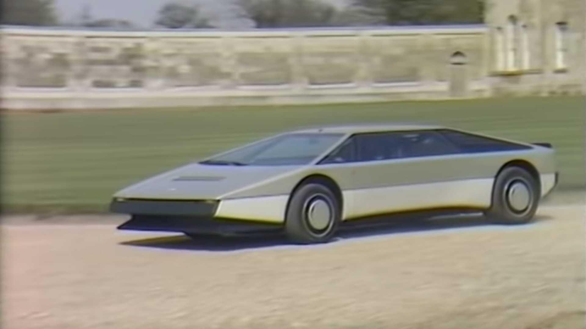 Original Aston Martin Bulldog Review Footage Surfaces Online