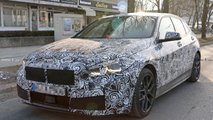 2019 BMW 1 Series spied inside and out