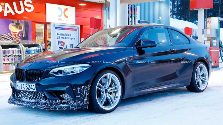 BMW M2 CS spy shots