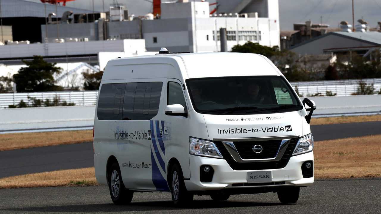 Nissan Invisible to Visible