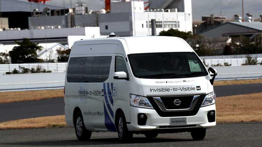 Nissan Invisible-to-Visible. Realtà virtuale e aumentata a bordo