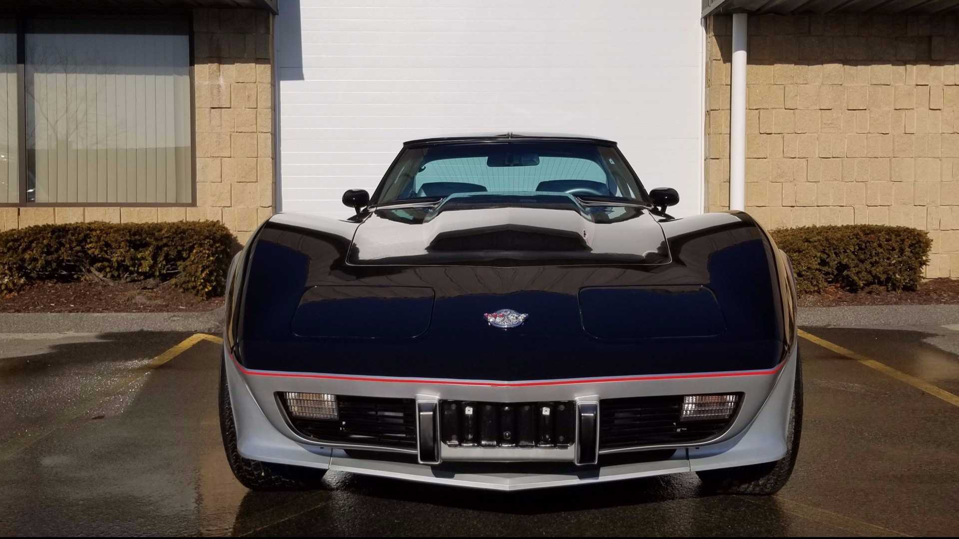 """[""""This Highly Collectible 1978 Corvette Pace Car Has Only 99 Miles""""]"""