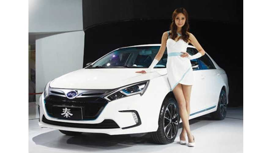 BYD Sells 600 Electric Vehicles in 1 Day in Beijing (w/video)