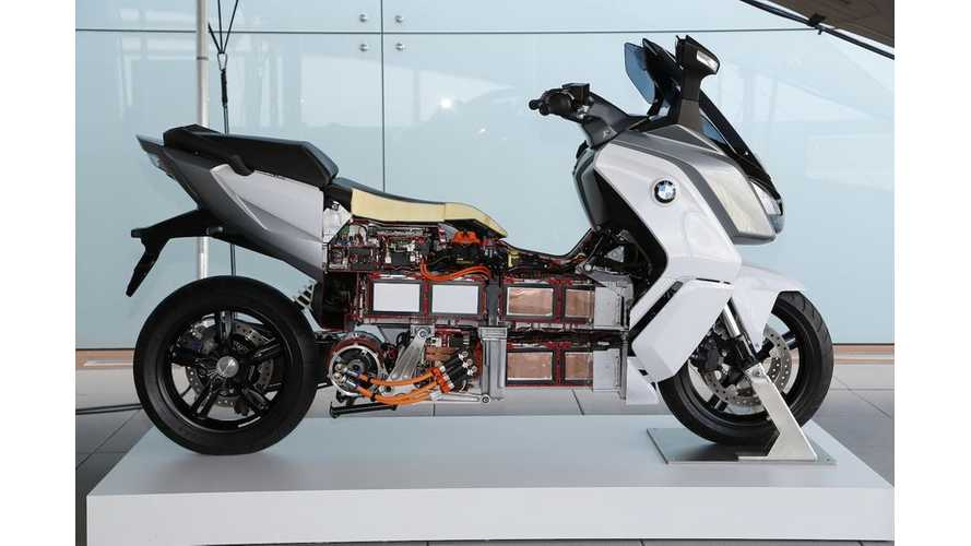 In Detail - BMW C Evolution Electric Maxi Scooter