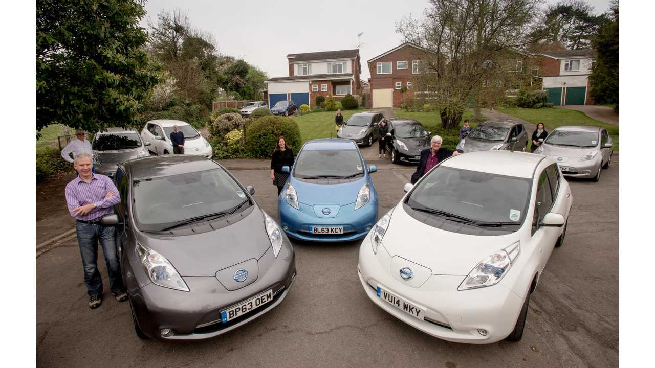 The street of the future – neighbours in Marlow test the impact of a cluster of 9 electric vehicles on the local electricity grid