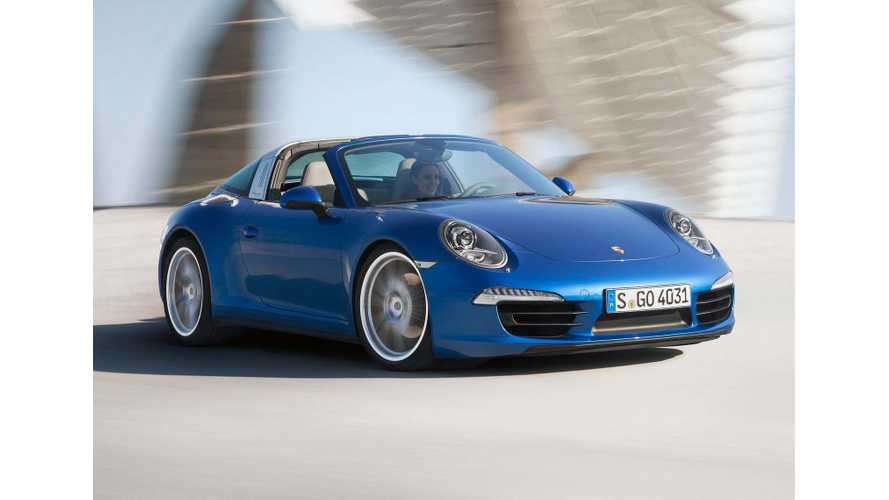 Porsche CEO: Plug-In Hybrid 911 Coming In 3 Years