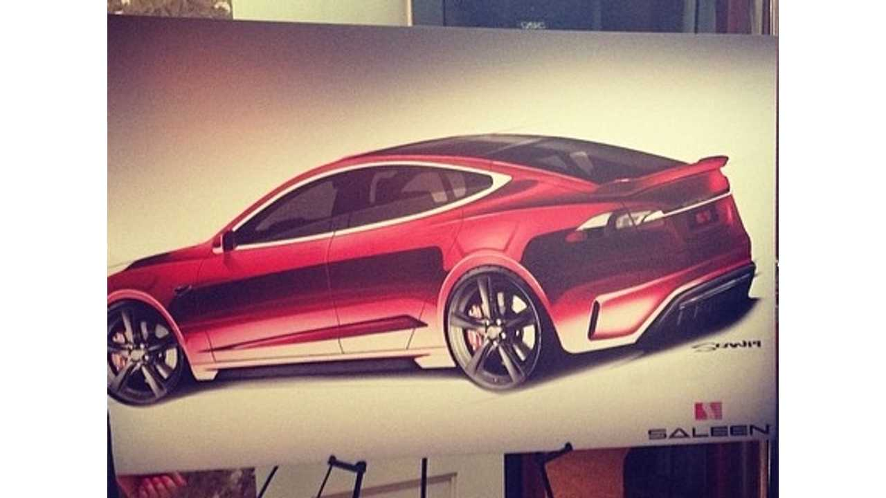 Saleen Tesla Model S Gets Revealed