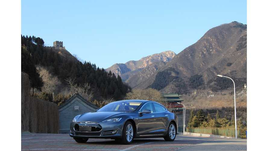 Tesla Model S Orders and Sales in China