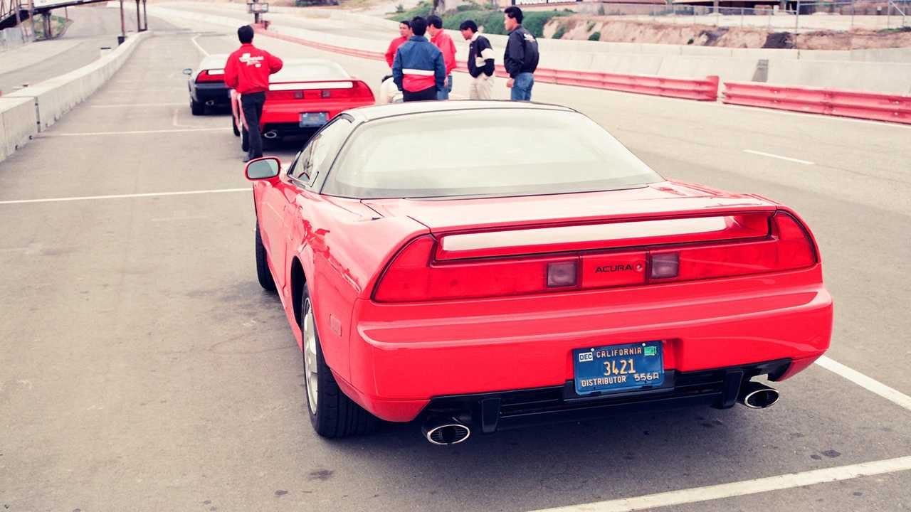 Original Acura NSX Launch