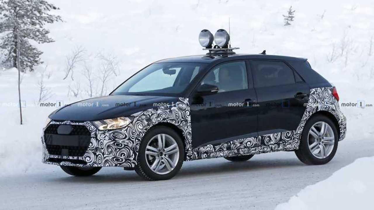 Audi A1 Allroad 2019, fotos espía