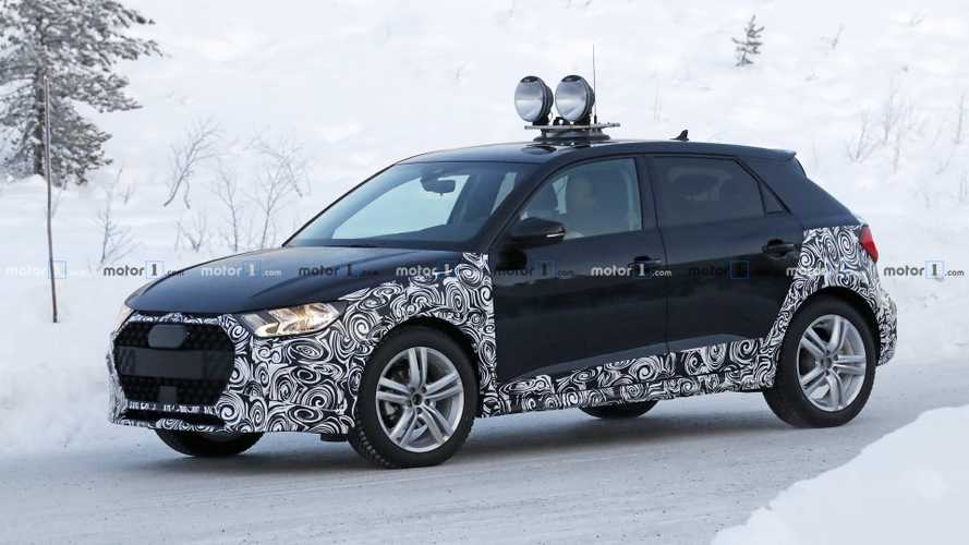 New Audi A1 Allroad Spied Getting Snowy With It [UPDATE]