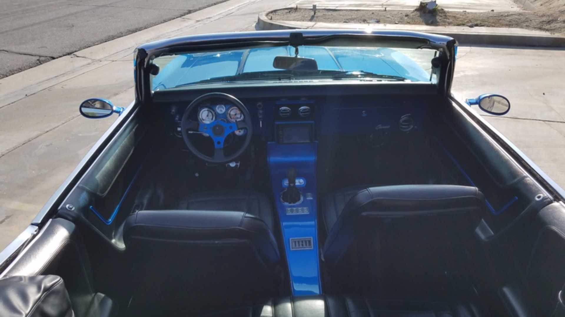 """[""""Mint ProTouring 1968 Camaro SEMA Car Could Be Yours""""]"""