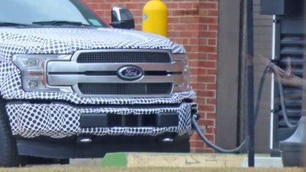 Ford F-150 elétrica é flagrada em testes pela primeira vez