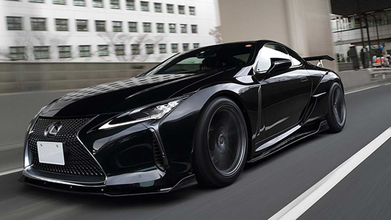 lexus lc widebody kit makes the coupe devilishly handsome | car in